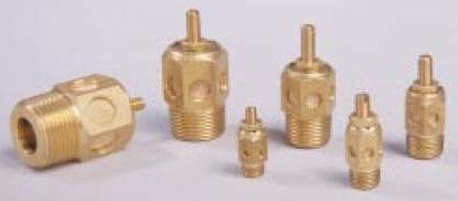 """ASP-1SC 1-5/16"""" x 1/2"""" Hex, 1/8"""" NPT, 20 SCFM, 300 PSI, Sintered Bronze, Quiet Flow Speed Control, Fluid Power Pneumatic Muffler"""