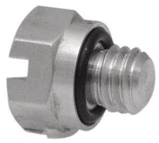 "11782-7-ENP-PKG 5/16"", #10-32 TPI, MPT, Electroless Nickel Plated, Brass, Hex Head, Screw Plug"