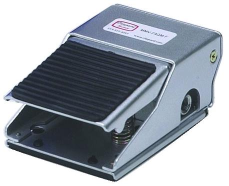 """MMV-F3QM-F 1/4"""" x 1/4"""", NPT NPT, 0 to 150 PSI, 3-Way/Flat, Manual, Foot Pedal Valve"""