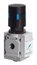 "MS4N-LR-1/4-D6-AS 1/4"" NPT, 0.8 to 14 Bar, Die Cast Aluminum, Rotary Knob, Lockable, Manual, Direct Operated, Pressure Regulator"