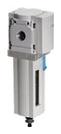 "MS4N-LF-1/4-CRM 1/4"" NPT, 5 Micron, -10 to 60 Deg C, 0.8 14 Bar, Polyethylene Filter, Plastic Bowl, Manual, Air Line Filter"