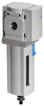 "MS6N-LF-1/2-CRM 1/2"" NPT, 5 Micron, -10 to 60 Deg C, 0 20 Bar, Polyethylene Filter, Plastic Bowl, Manual, Air Line Filter"