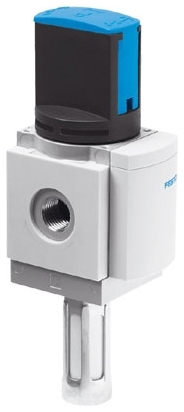 """MS6N-EM1-1/2-S 1/2""""-14 TPI x TPI, 0 to 18 Bar, Die Cast Aluminum, 3-Port, 2-Way, Manually Operated/Rotary Slide, On/Off, Solenoid Valve"""