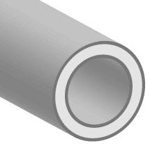 "1C-013-25 0.066"" x 1/8"", 500' L, 135 PSI, 0.43 Lb, Transparent Red, Polyurethane, Tubing"