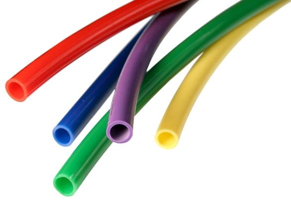 """1J-201-05 0.106"""" x 5/32"""", 100' L, 350 PSI, 0.51 Lb, Red, Nylon, Tubing"""