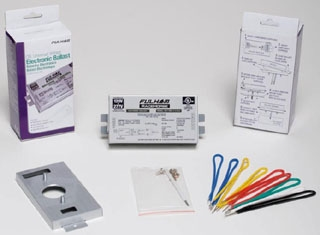 RHA-UNV-226-K RACEHORSE A - CFL BALLAST - UNIVERSAL VOLTAGE - (PS) - FOR 1 OR 2 X 26W CFL - CONTRACTOR KIT