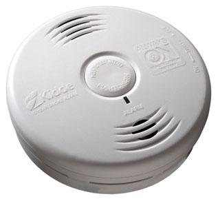 KIDDE 21010067 (P3010B) 10-YEAR PHOTOELECTRIC WORRY FREE BEDROOM SEALED LITHIUM BATTERY POWER SMOKE ALARM