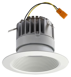 LIT 4BP-MW-LED LIT LED RETROFIT TRIM F/ 4