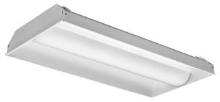 lit 2AVL4-40L-MDR-EZ1-LP835 LIT LED TROFFER 2X4 3500K 4000 LUMEN 120-277V *229E8F
