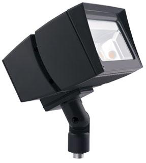 RAB FFLED80 RAB LED FLOOD 80W 5000K 9672 LUMEN 120-277V BRONZE