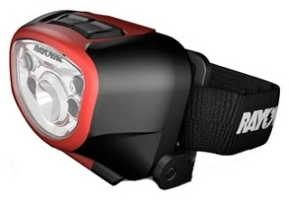 ROV STFHL3AAA-BT SPOT-TO-FLOOD LED HEADLIGHT WITH 3AAA BATTERIES