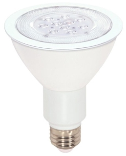 sat S9090 SAT 11W 3000K 750 LUMEN DIMMABLE 40DEG PAR30L 120V LED LAMP