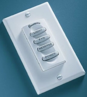 cas W-84 CAS INTELI TOUCH III RF WALL CONTROL (FOR FANS WITH UPLIGHT AND DOWNLIGHT)