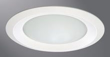 """CPL 6150WH 6"""" FROST LENS SHOWERLI"""