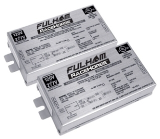 (FULHAM) RHA-UNV-226-C RACEHORSE A CFL BALLAST UNIVERSAL VOLTAGE (PS) FOR 1 OR 2 X 26W CFL  C MODEL