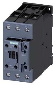 ITE 3RT20361AK60 CONTACTOR AC3:22KW/400V 1NO+1NC 110VAC 50HZ/120V 60HZ 3-POLE SIZE S2 SCREW TERMINAL