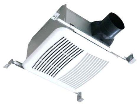 "120 V 110 CFM 1.2 Scones 4/6"" Duct Galvanized Steel Ceiling Mount Ventilation Fan"