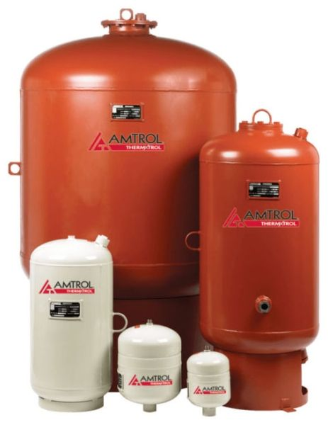 """24"""" x 59"""", 80 Gallon, 150 PSIG, Lead-Free, Steel Shell, Pre-Charged, Full Acceptance Bladder, Thermal Expansion Tank for Water Heater"""