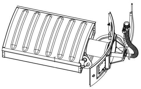Water Heater Burner / Door Assembly