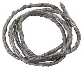 """24"""" x 3/32"""" Gray Graphite Faucet Repair Packing Rope"""