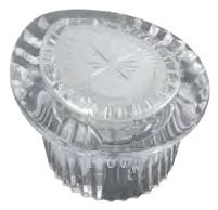 1-Knob Faucet Handle - Clear, Acrylic