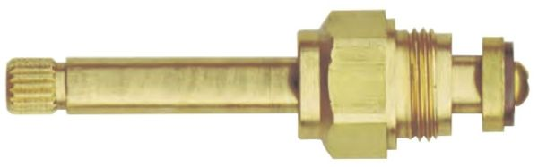"3-5/16"" Brass Compression Hot Kitchen Faucet Stem"