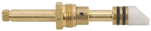 "4-5/16"" Brass Washerless Tub and Shower Faucet Diverter Stem"
