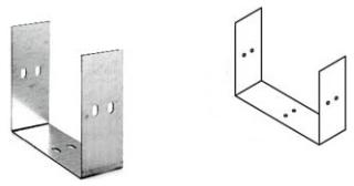 """EBOX 6-UC 6X6 WIREWAY """"U"""" CONN GALV"""