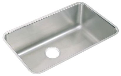 """30-1/2"""" x 18-1/2"""" x 11-1/2"""" Lustertone 316L Stainless Steel Single Bowl Undermount Laundry Sink"""