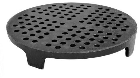"""5-1/2"""" x 4"""" Perforated Round Sewer Strainer"""