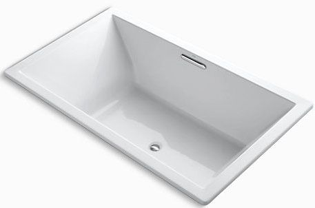 Underscore Contemporary 6' Bath White