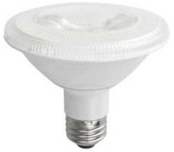 TCP LED12P30SD30KFL TCP 12W PAR30S 3000K 875 LUMEN DIMMABLE 40DEG LED LAMP