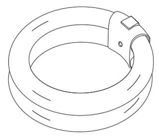 TCP-3203251K 32W 5100K CIRCLINE T6 FLUORESCENT LAMP