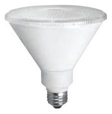 TCP LED14P38D30KFL TCP 14W PAR38 3000K 1100 LUMEN DIMMABLE 40DEG LED LAMP