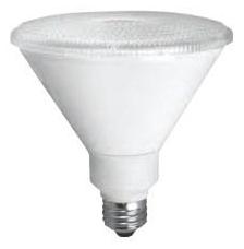 tcp LED17P38D50KSP TCP 17W PAR38 5000K 1300 LUMEN DIMMABLE 15DEG LED LAMP