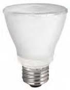 tcp LED10P20D30KFL TCP 10W PAR20 3000K 650 LUMEN DIMMABLE 40DEG LED LAMP