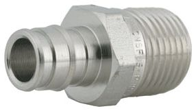 """1/2"""" X 1/2"""" Pex X Mpt 316 Stainless Steel Male Straight Adapter"""