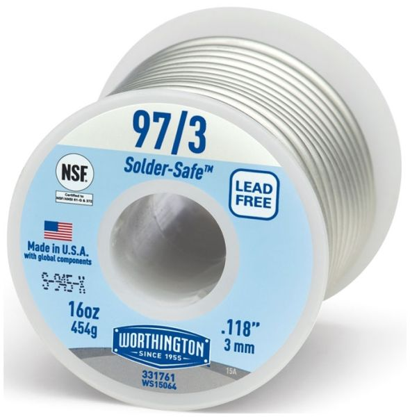 97 Tin/3 Copper Solder Wire
