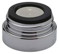 """1.019"""" 0.5 GPM Vandal Resistant Non-Aerated Flow Faucet Aerator"""