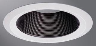 HALO 6109BB 6IN BK PLASTIC COILEX