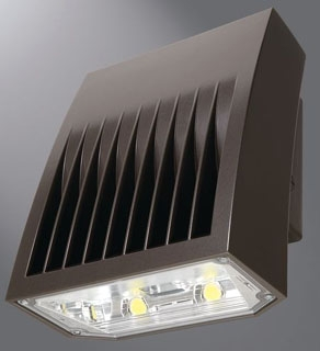 LUM XTOR8B LUM LED WALLPACK 5000K 5802 LUMEN 120-277V BRONZE