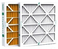 """14"""" x 2"""" x 25"""", 500 FPM, 74.6 Pascal, Synthetic Fiber, Pleated, Air Filter"""