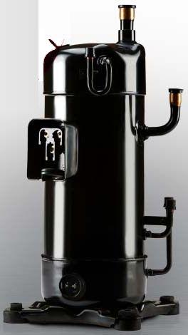 147 MM x 454 MM, 208 to 230 VAC, 1-Phase, 40000/49200 BTU/HR, Air Conditioner Scroll Compressor