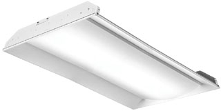 lit 2FSL4-48L-EZ1-EL14L-LP840 LIT LED 2X4 TROFFER 4000K 4800 LUMEN 0-10V DIMMING W/ BATTERY BACKUP
