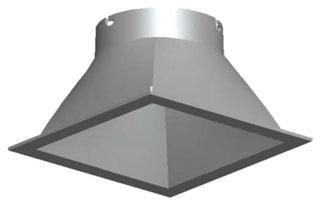 lit EVO-SQLW-4AR-LD-TRIM-U LIT DOWNLIGHT LED *
