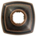 Oil Rubbed Bronze, Rectangular, 1-Hole, Shower Arm Flange