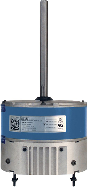 230 V, 1/8 to 1/3 HP, 1-Speed, 825/1075 RPM, CAO Enclosure, ECM Condenser Fan Motor