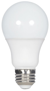 (S9831) 5A19/OMNI/220/LED/30K 5W 120V 3000K MEDIUM (E26) BASE DIMMABLE FROSTED WHITE LED A19 LAMP 470 LUMENS 25,000 HOUR AVERAGE RATED LIFE