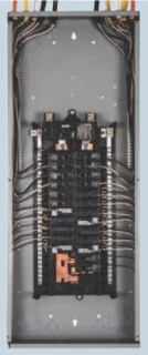 SIE S4080B1200A SIE PANEL 200A MCB 40SP 80C 1PH N1 ALUM WIREGUIDE