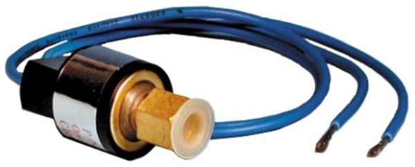 """1/4"""" SAE Female Flare, 0 to 650 PSI, SPST, Encapsulated/Non-Adjustable, Pressure Switch"""